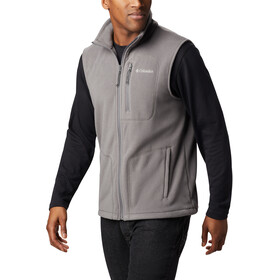 Columbia Fast Trek Fleece Vest Heren, city grey